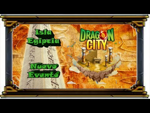 Facebook - Dragon City - Evento Isla Egipcia - Consigue los dragones