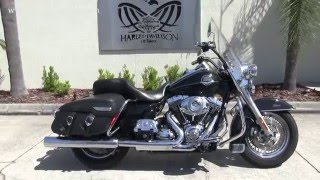 7. 2009 Harley Davidson FLHRC Road King Classic for sale in Florida