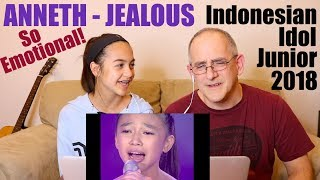 Video ANNETH - JEALOUS (Labrinth) - TOP 7 - Indonesian Idol Junior 2018 | REACTION MP3, 3GP, MP4, WEBM, AVI, FLV November 2018