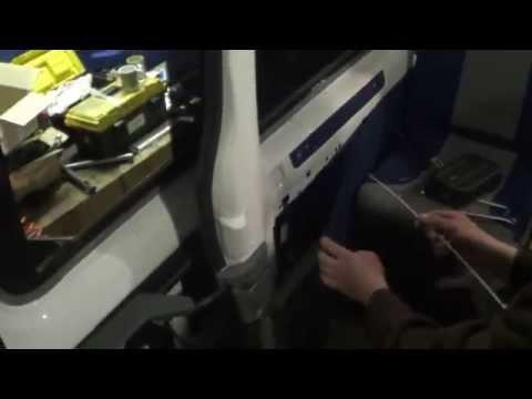 Автоматическая сдвижная дверь на форд транзит фотка