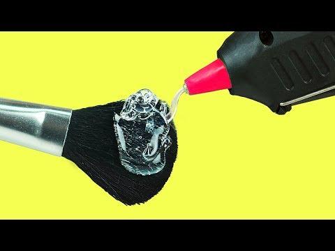 12 Hot Glue Gun Life Hacks For Crafting (видео)