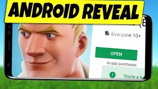 Fortnite Mobile ANDROID RELEASE Release REVEAL - Samsung Galaxy Note 9