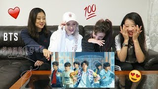 Video [MV REACTION] FAKE LOVE - BTS | P4pero Dance MP3, 3GP, MP4, WEBM, AVI, FLV Juni 2018