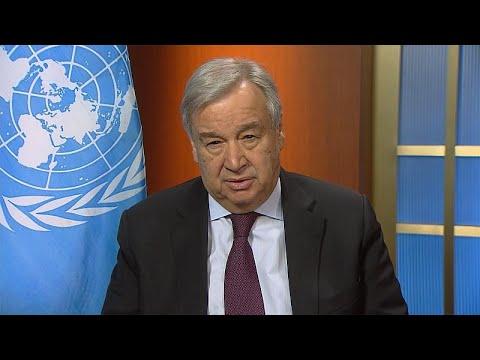 Αντόνιο Γκουτέρες: Ο Γ.Γ. του ΟΗΕ  μιλά για τον κορονοϊό και τα μέτρα που πρέπει να παρθούν…