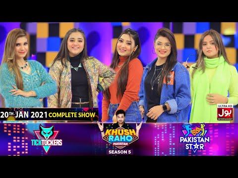 Game Show | Khush Raho Pakistan Season 5 | Tick Tockers Vs Pakistan Stars | 20th January 2021