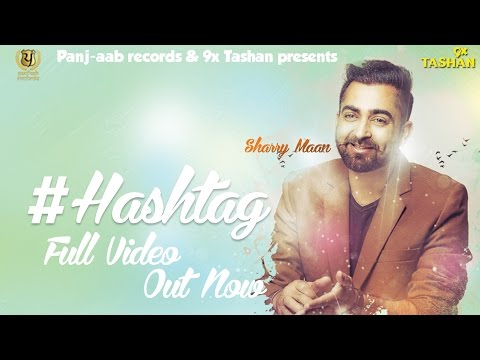 HASHTAG Song Lyrics Video 2105 | Sharry Maan |  JSL