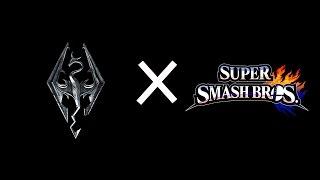 Smash Bros. x Skyrim