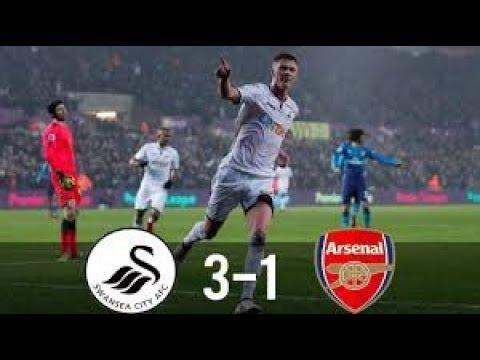 Swansea vs Arsenal 3-1Highlights & All Goal Fa Cup