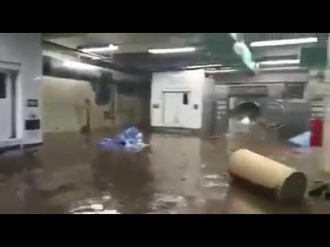 Se inunda hospital del IMSS