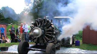 Beim traditionsreichen Traktorentreffen in Burkhardtsdorf ist seit einiger Zeit immer ein großer russischer Sternmotor aus einer...