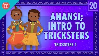 This week, Mike introduces you to Tricksters, starting with Anansi, the West African trickster god who is also sometimes a spider. Tricksters are, well, tricky. They're wise and foolish, they're promiscuous and amoral, but in a lot of ways, they're good guys.  We'll also talk about the occasionally tricky Hercules and Atlas, and touch on more recent tricksters like B'rer Rabbit. Download a free trial of Adobe Creative Cloud here: http://www.adobe.com/creativecloud.htmlCrash Course is on Patreon! You can support us directly by signing up at http://www.patreon.com/crashcourseThanks to the following Patrons for their generous monthly contributions that help keep Crash Course free for everyone forever:Mark, Les Aker, Bob Kunz, mark austin, William McGraw, Jeffrey Thompson, Ruth Perez, Jason A Saslow, Shawn Arnold, Eric Prestemon, Malcolm Callis, Steve Marshall, Advait Shinde, Rachel Bright, Khaled El Shalakany, Ian Dundore, The Great Dionysus, Tim Curwick, Ken Penttinen, Dominic Dos Santos, Caleb Weeks, Kathrin Janßen, Nathan Taylor, Yana Leonor, Andrei Krishkevich, Brian Thomas Gossett, Chris Peters, Kathy & Tim Philip, Mayumi Maeda, Eric Kitchen, SR Foxley, Tom Trval, Andrea Bareis, Moritz Schmidt, Gianna Phelps, Jessica Wode, Daniel Baulig, Jirat --Want to find Crash Course elsewhere on the internet?Facebook - http://www.facebook.com/YouTubeCrashCourseTwitter - http://www.twitter.com/TheCrashCourseTumblr - http://thecrashcourse.tumblr.com Support Crash Course on Patreon: http://patreon.com/crashcourseCC Kids: http://www.youtube.com/crashcoursekids