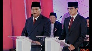 Video Prabowo: Saya akan Perbaiki Kualitas Hidup Semua Birokrat (Debat Pertama Pilpres 2019 - Bag 3) MP3, 3GP, MP4, WEBM, AVI, FLV Januari 2019