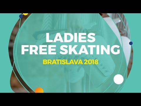Ema Doboszova (SVK)   Ladies Free Skating   Bratislava 2018