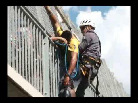 Salvamento de Suicida na Passarela da Rodovia Limeira - Piracicaba