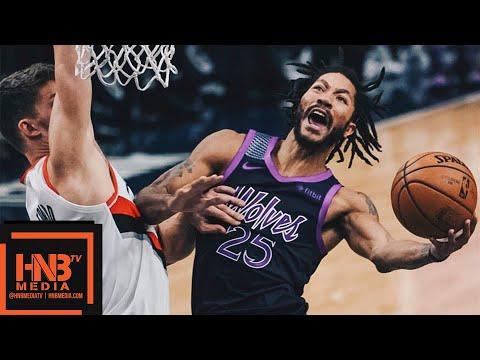 Minnesota Timberwolves vs Portland Trail Blazers Full Game Highlights   11.16.2018, NBA Season