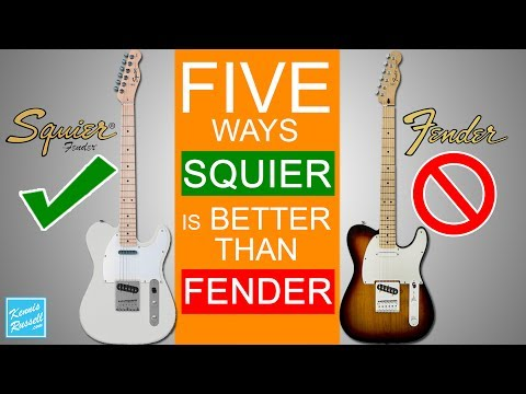 5 Reasons Squiers Are Better Than Fenders