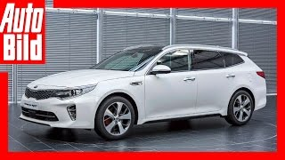 Kia Optima Kombi Review/ Probefahrt/ Test/ Details by Auto Bild