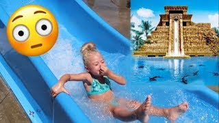 We had so much fun at this water park! Wish we had a waterproof camera so we could've shown you guys more of the crazy rides!