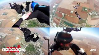 Skydiving with JVC's Adixxion Action Cam