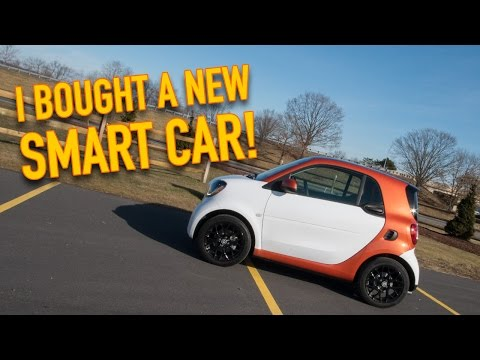 I Bought A New Smart Car | Fortwo Edition #1