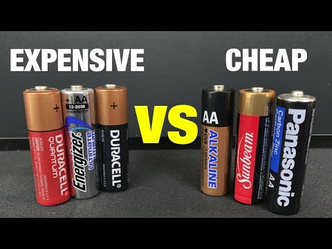 Expensive Batteries Vs Cheap Batteries