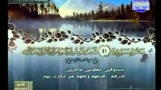 HD الجزء 29 الربعين 3 و 4  : الشيخ  ياسر الفيلكاوي