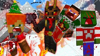 STEVE And ALEX Christmas HOLIDAY DISASTER - MINECRAFT STEVE AND ALEX [213]