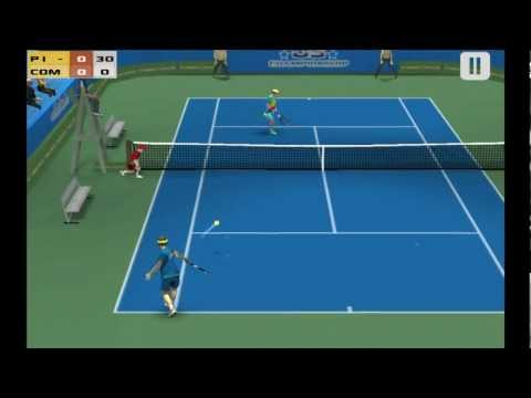 Video of Cross Court Tennis Free