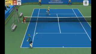 Cross Court Tennis YouTube video