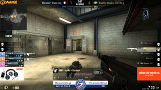 ESWC 2014 Female - Spiel Um Platz 3  Reason Gaming Female Vs.  Bad Monkey Gaming (de_nuke) Map 1