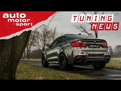 Fostla BMW X6 M50D: Fettes Stück - TUNING-NEWS | au ...