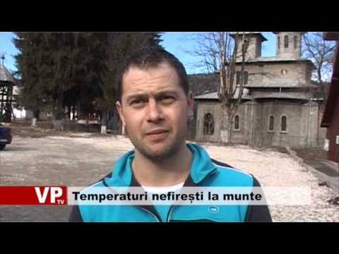 Temperaturi nefirești la munte