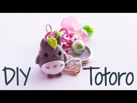 Tutorial Totoro in Fimo
