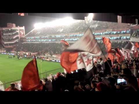 Recibimiento Independiente vs Lanús - La Barra del Rojo - Independiente