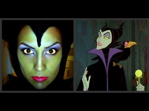 Maquillage d'Halloween : sorcière (Belle au bois dormant)