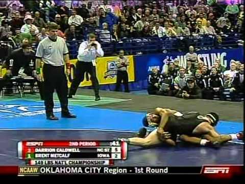 Darion Caldwell vs Brent Metcalf - 2009 NCAA Championship