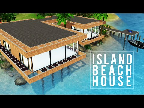 Beach - A lavish, contemporary beach house built for any affluent sims wanting to get away. — Twitter @deligracy Instagram @deligracy.