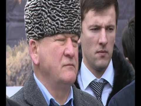 Поздравление президента России с открытием культурно-исторического комплекса «Ахульго»