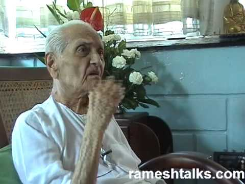 Ramesh Balsekar Video: Enlightenment Means the End of Suffering, NOT Unlimited Bliss