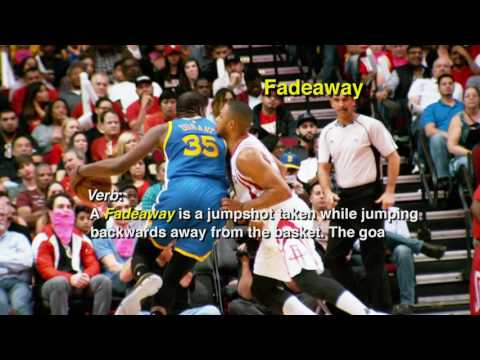 KEVIN DURANT ON FADE AWAY