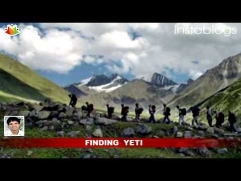 Team found Yeti Footprints in Nepal