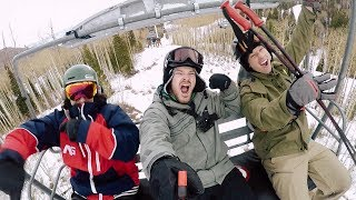 Video How To Stay Active During The Winter || Skiing and Trampoline Park MP3, 3GP, MP4, WEBM, AVI, FLV Januari 2018