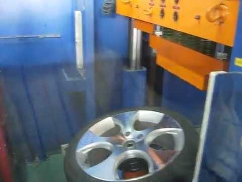 Тест на прочность колёсных дисков WSP Italy W444 CIPRUS на удар спицы (Volkswagen)
