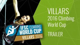 Upcoming LiveStream Trailer - IFSC Climbing World Cup Villars 2016 - Lead & Speed by International Federation of Sport Climbing