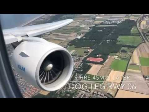 RAW POWER! KLM BOEING 777 200ER Takeoff & Landing LAX to AMS w/ ATC