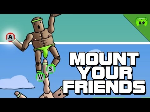 MOUNT YOUR FRIENDS # 6 - Festhalten«» Let's Play Mount Your Friends | HD