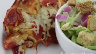Easy Bundt Pan Pizza Bread Recipe