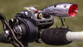Video Winter TopWater Action- Strike King KVD Popper Simply Catches Fish [ToadsTips&Trips] MP3, 3GP, MP4, WEBM, AVI, FLV Agustus 2018