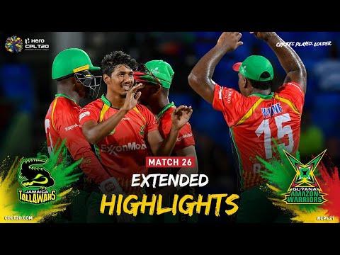 Extended Highlights | Jamaica Tallawahs v Guyana Amazon Warriors | CPL 2021