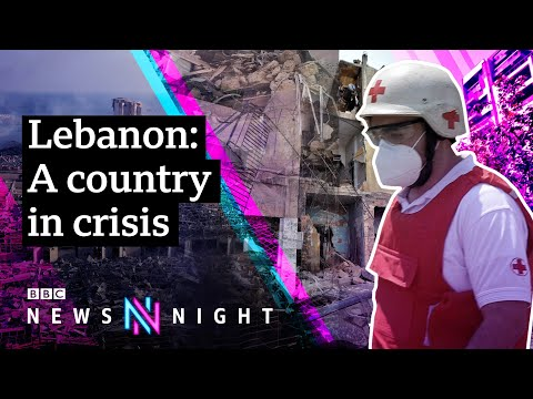 Beirut explosion: Is Lebanon on the brink of collapse? - BBC Newsnight